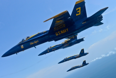 Blue Angels 4K Wallpaper