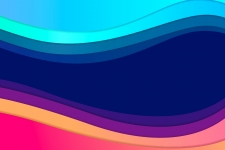 Curves Colourful HD Wallpaper