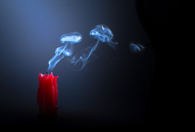 Candle Smoke 4K Wallpapers