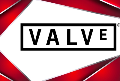Valve Logo 4K Wallpaper