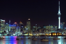 City Night New Zealand HD