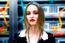 Lily Rose Depp 4K Wallpaper