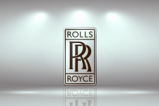 Rolls Royce Logo 4K Wallpaper