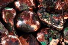 Copper Rocks HD Wallpaper