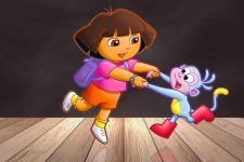 Dora The Explorer 4K Wallpaper