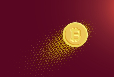 Bitcoin Logo 4K Wallpaper