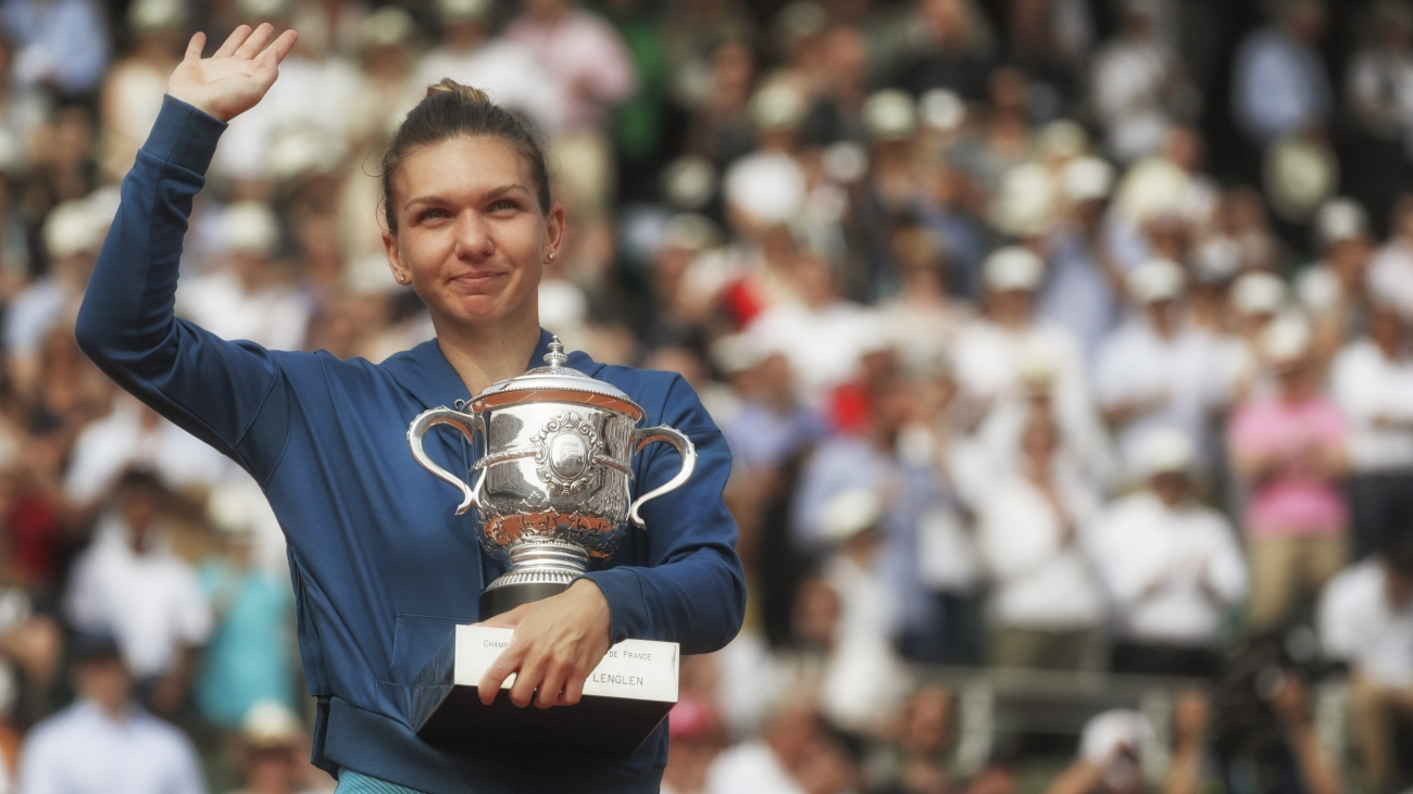 Simona Halep HD Wallpaper