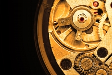Mechanical Watch Background 4K