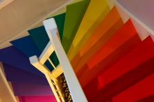 Colorful Stairs HD Wallpapers