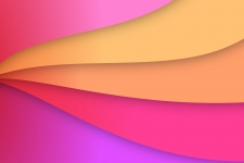 Colorful Papercut 4K Wallpapers