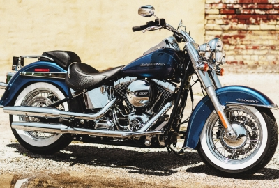 Harley Davidson Softail Deluxe 4K Wallpapers