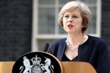 Theresa May HD Wallpaper