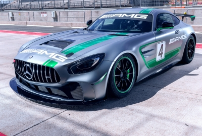 Mercedes AMG GT4 HD Wallpaper